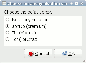 Anonymous Instant Messaging und IRC